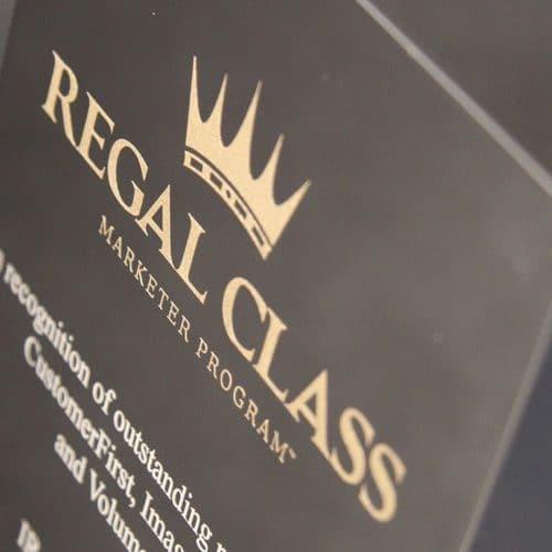 Regal Class Award