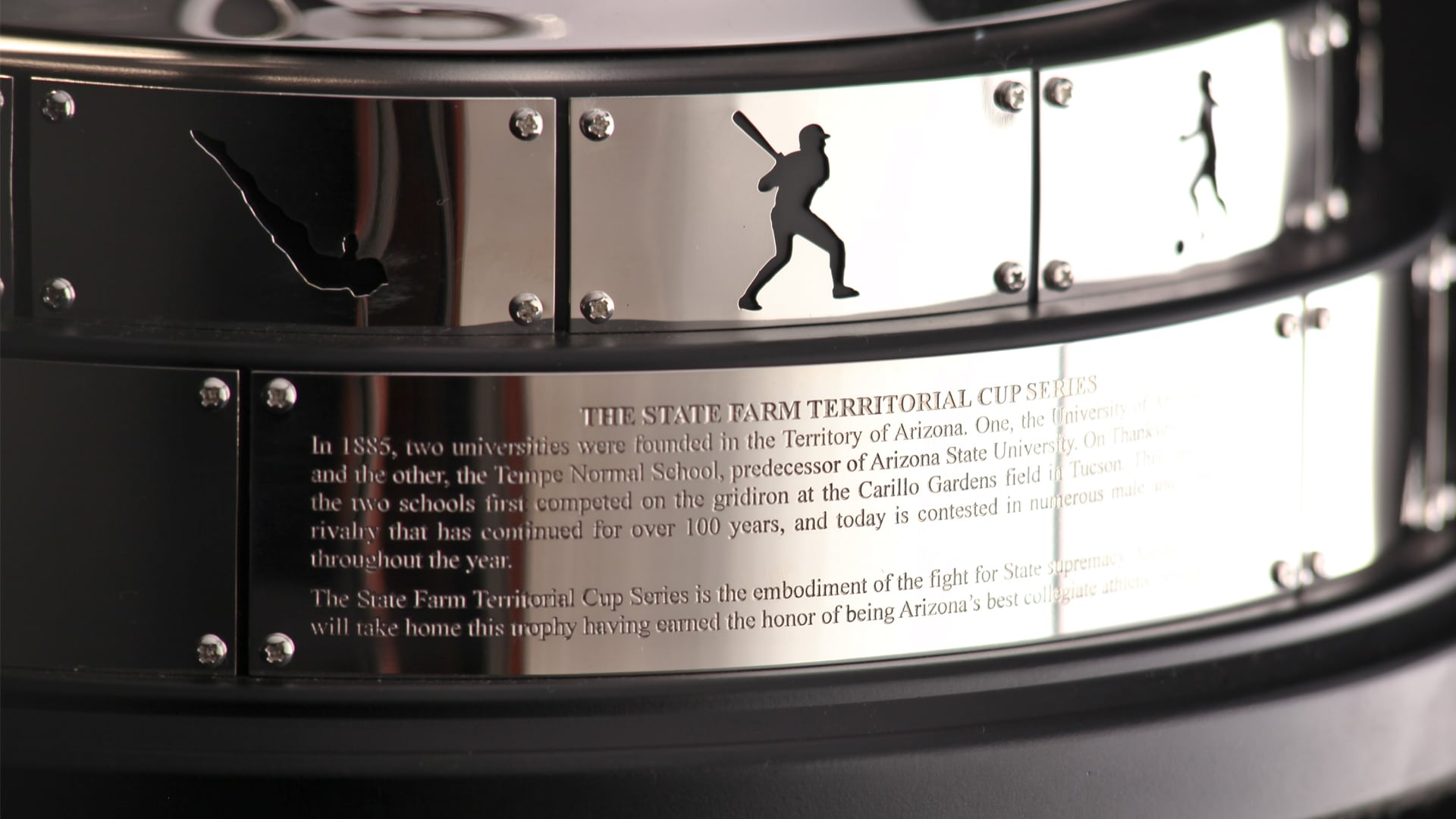State Farm Territorial Cup Trophy