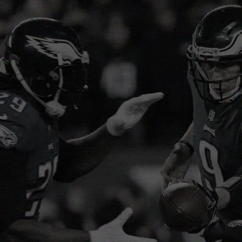 Philadelphia Eagles Hand-off